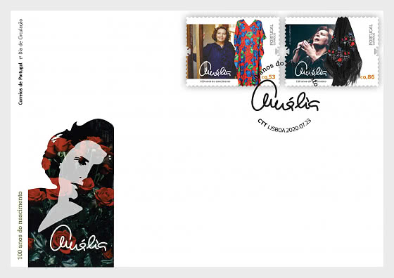 Amalia - A Voice In Each Of Us - FDC Set - First Day Cover