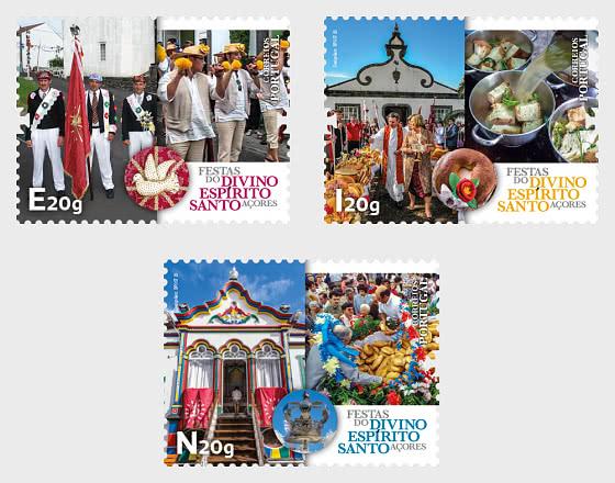 Festivities Divino Espirito Santo - Azores - Set