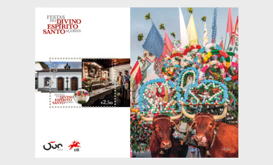 Festivities Divino Espirito Santo - Azores - Miniature Sheet