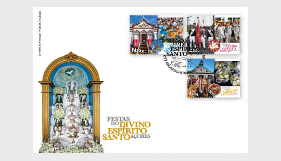 Festivities Divino Espirito Santo - Azores - FDC SET - First Day Cover