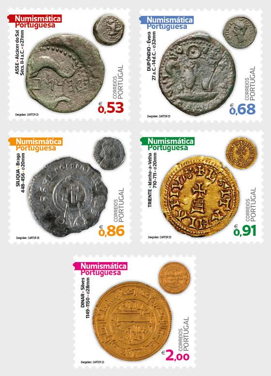Portuguese Numismatics - 1st Group - Set
