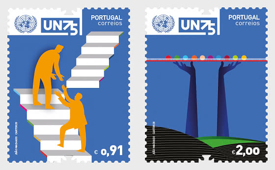75th Anniversary Of The United Nations - Set