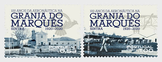 100 Years at Granja do Marques -  A Past and Present of Aeronautics - Set
