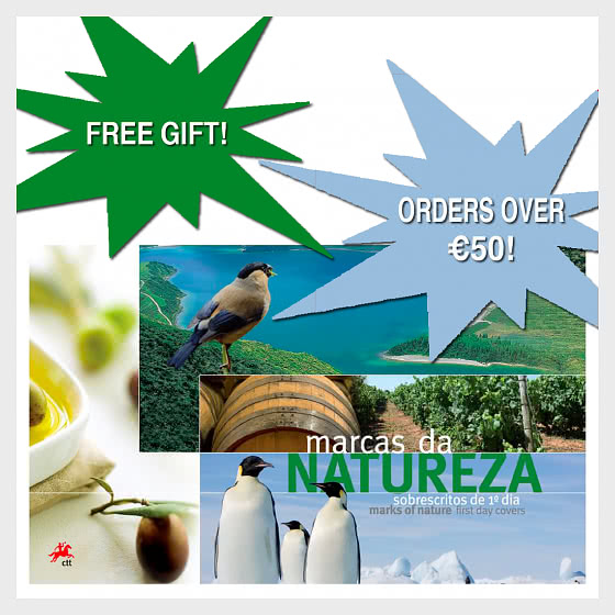 REGALO GRATUITO: Album FDC Brands of Nature - Collezionabile