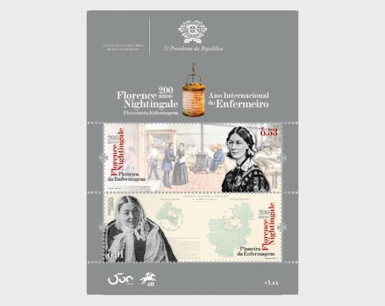 The 200th Anniversary of Florence Nightingale´s Birth - Miniature Sheet