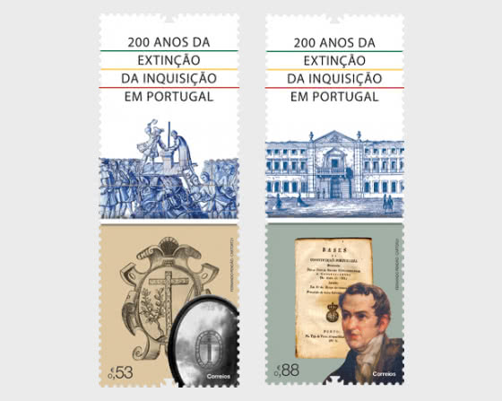 200th Anniversary of the End of the Inquisition in Portugal - Set