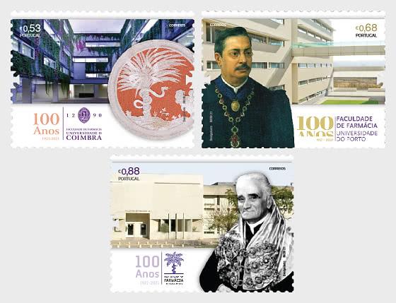 Centenary of the Faculties of Pharmacy - Set