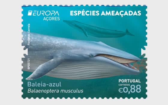 Azores - Europa 2021 - Endangered National Wildlife - Set