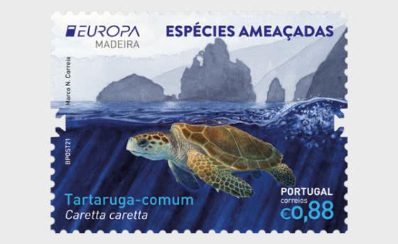 Madeira - Europa 2021 - Endangered National Wildlife - Set