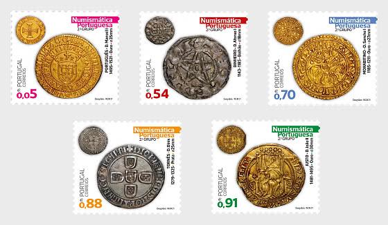 Portuguese Numismatics - 2nd Group - Set