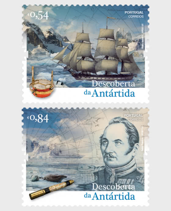 The Discovery Of Antarctica - Set