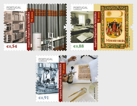 90 Years Of The Madeira Regional Archive - Set