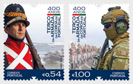 400th Anniversary Of The Terco Da Armada Da Coroa De Portugal - Set