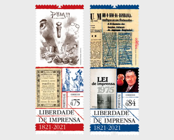 Bicentenary Of Freedom Of The Press - Set