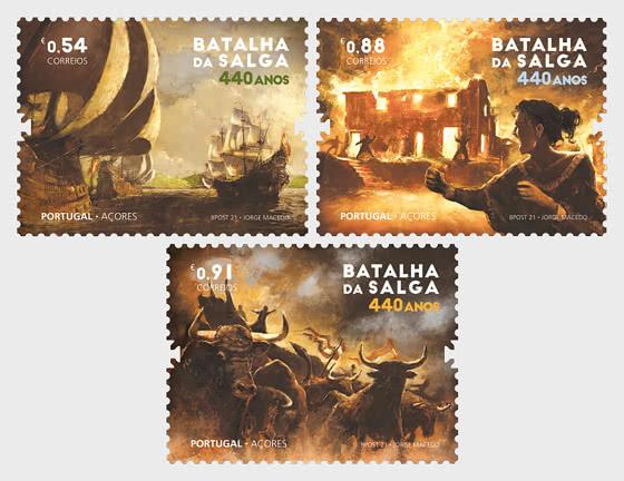 440 Years of the Battle of Salga - Set