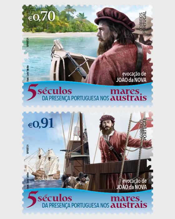 Five Centuries of the Portuguese Presence in the Southern Seas - Remembering Joao Da Nova - Set