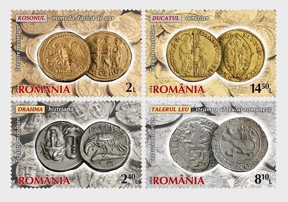 罗马尼亚国家银行的硬币收藏2014 - 套票