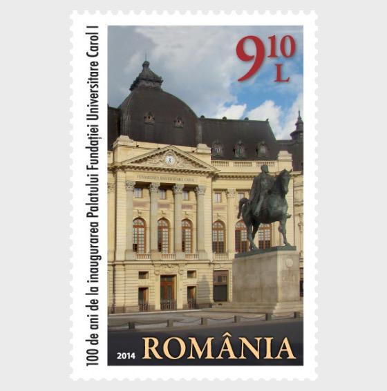 100 Years since the Inauguration of the Carol I University Foundation Palace - Set
