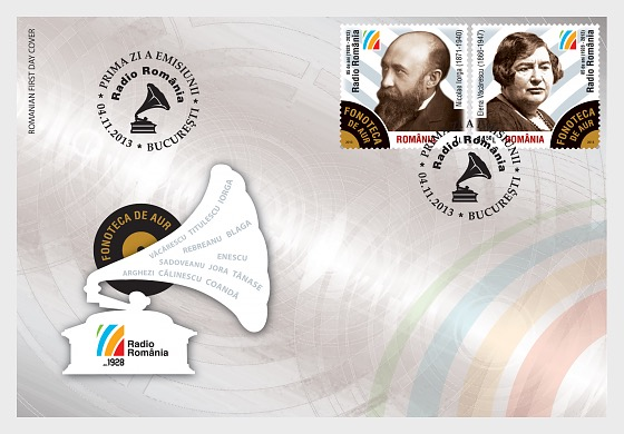 Los Archivos del sonido áureo de Rumanía - Sobre de Primer Dia