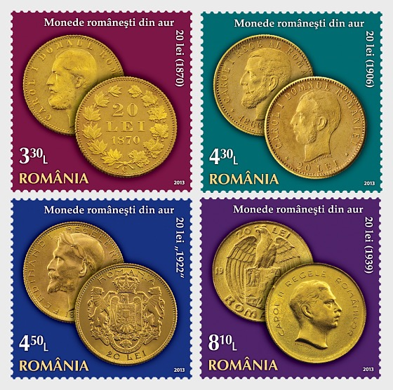 Romanian Gold Coins – Numismatic Collection of the National Bank of