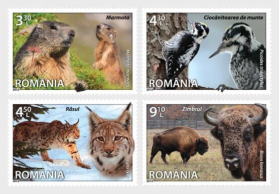 Fauna: especies de Rumanía - Series