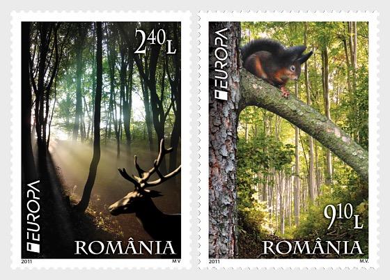 Europa 2011: bosques - Series