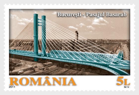 La Nueva Bucarest: PASARELA BASARAB, Un arco por encima del tiempo - Series