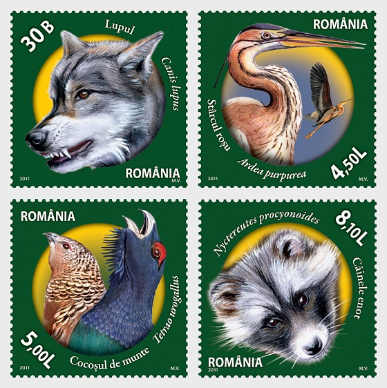 Fauna from Romanian Nature Reserves - Set