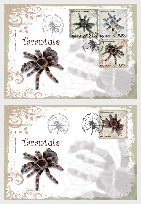 Tarantulas - First Day Cover