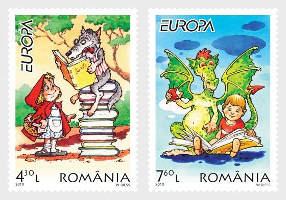Europa 2010 – Children Books - Set
