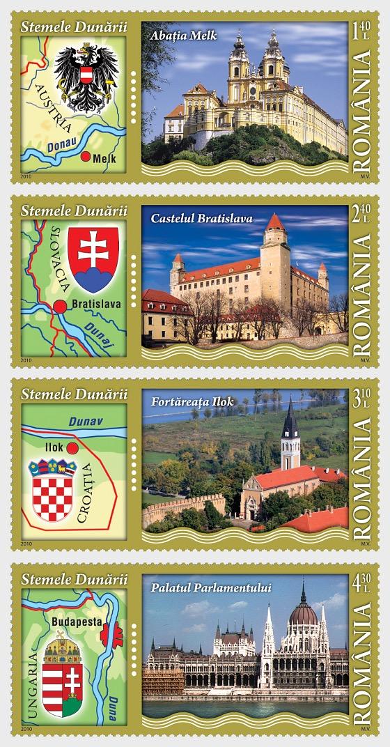 Danube's Coats of Arms I - Set