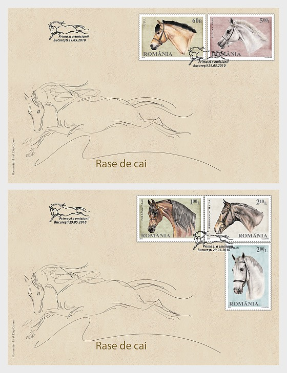 Horse Breeds - First Day Cover