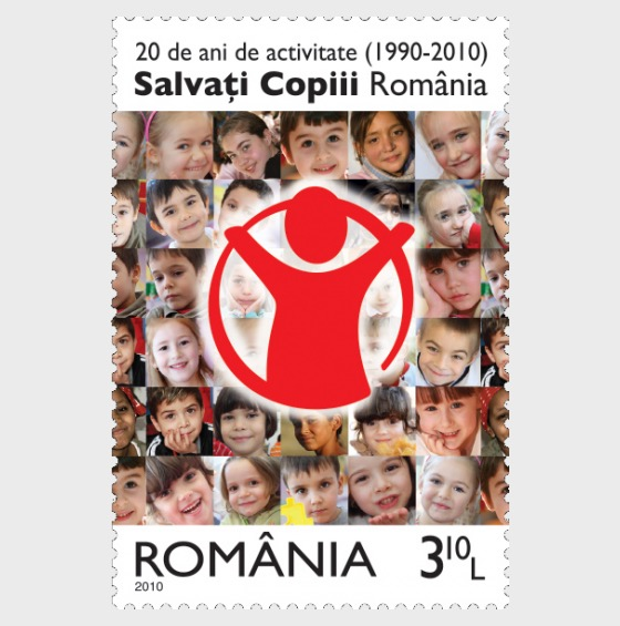 20 years of activity (1990-2010) – The Organisation Save the Children Romania - Set