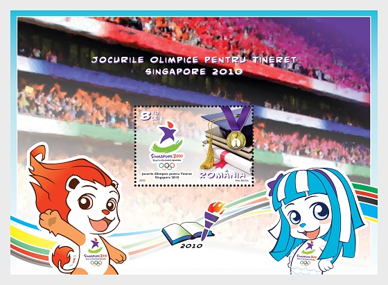 Youth Olympic Games - Singapore 2010 - Souvenir Sheet