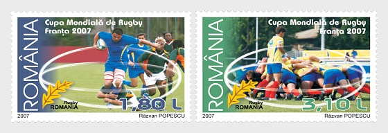 World Rugby Cup - France 2007 - Set
