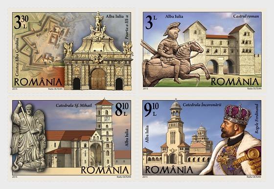 Romanian Cities, Alba Iulia - Set