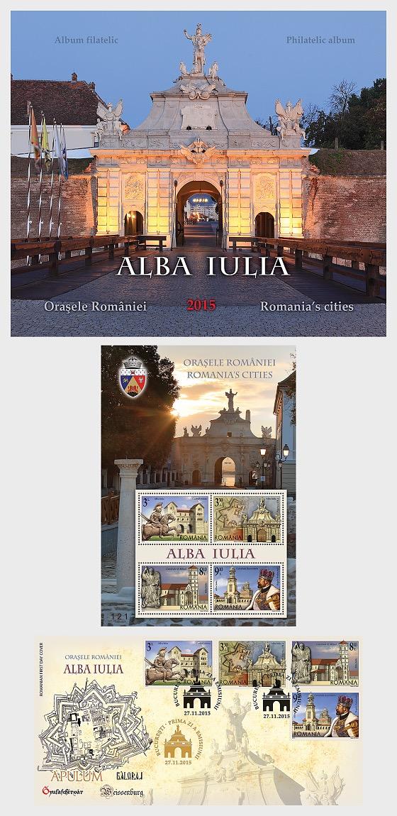 Las ciudades de Rumania, Alba Iulia - Carpetas