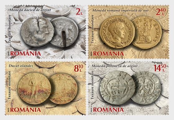 Numismatic Collection of the National Bank of Romania, Coin Hoards (II) - Set