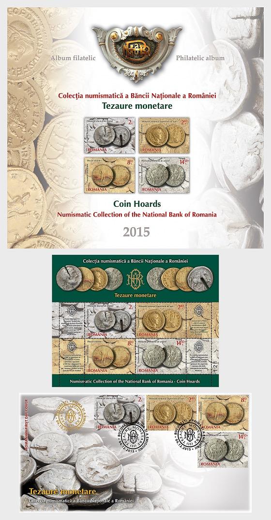 Colección de monedas del Banco Nacional de Rumanía II - Carpetas
