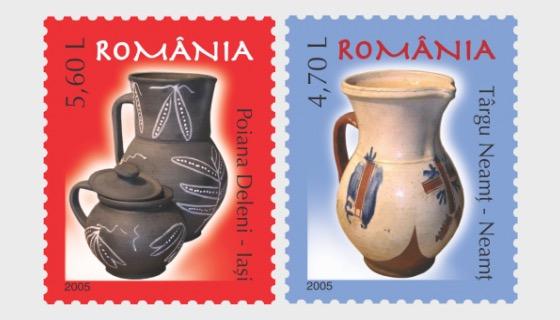 Romanian Pottery IV - Set
