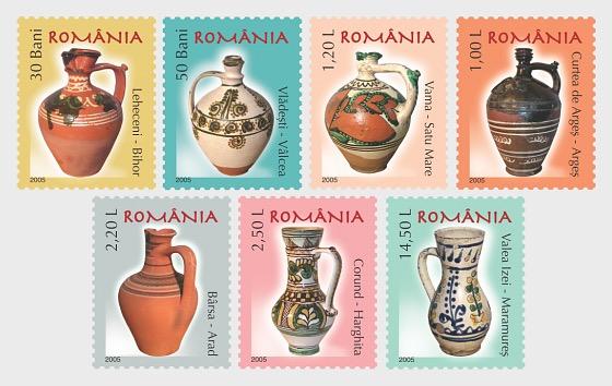 Romanian Pottery III - Set
