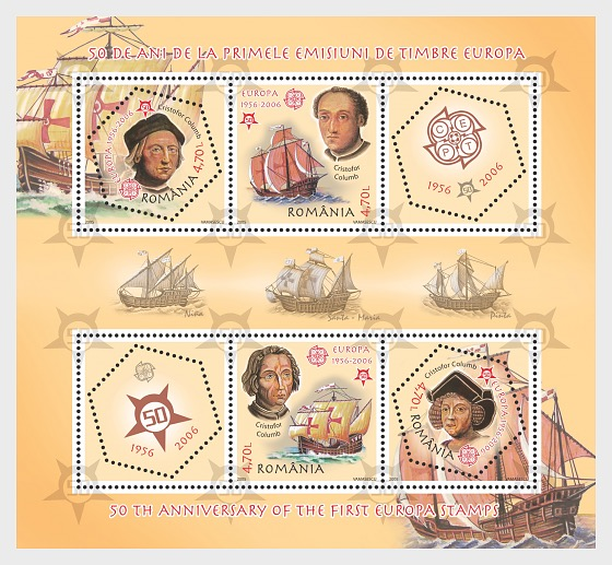 50th Anniversary of the First Europa Stamps - Miniature Sheet