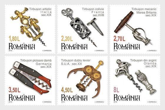 Colecciones rumanas, Sacacorchos - Series