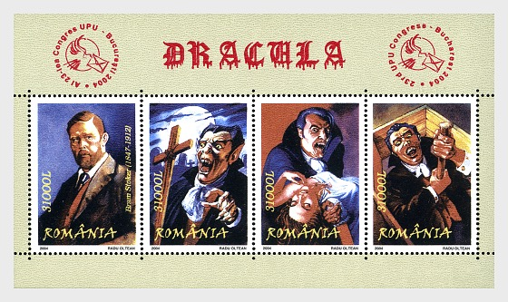 Dracula - Miniature Sheet