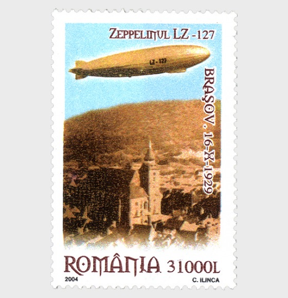 Events - 75 years since the flight of the Zeppelin over Brasov - Set