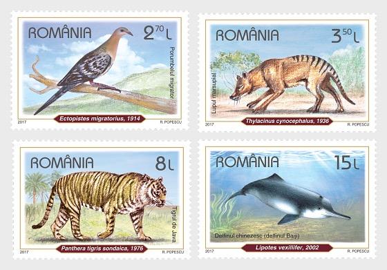 Recently Extinct Species  - Set