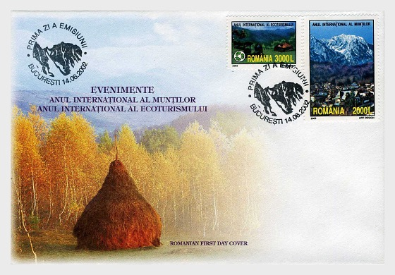Events – International Year of the Mountains and International Year of Ecotourism - First Day Cover