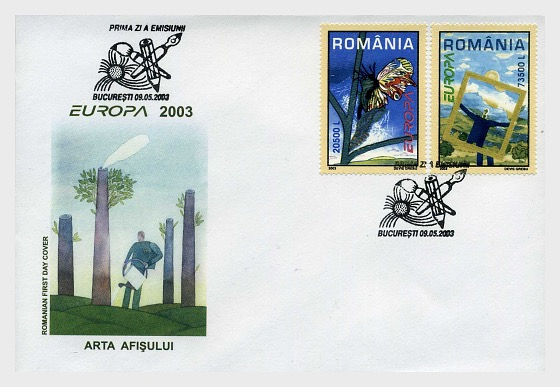 Europa 2003 - First Day Cover