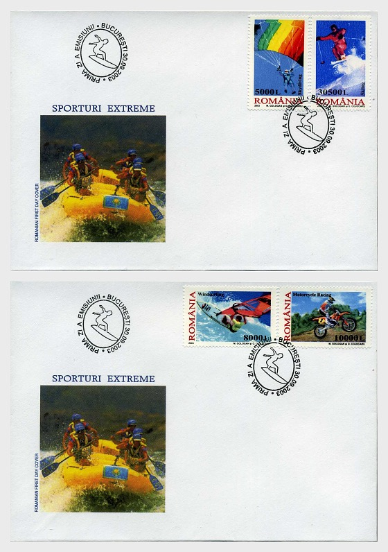 Extreme Sports - First Day Cover