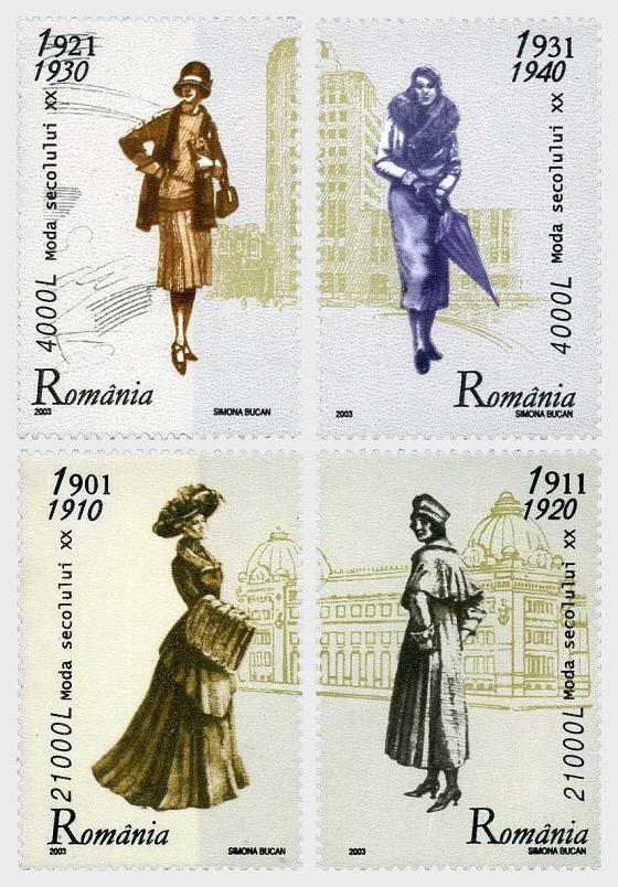 20th Century Fashion - Set